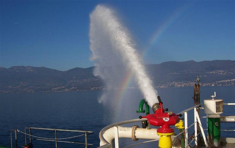 Brodski sustav s pjenom