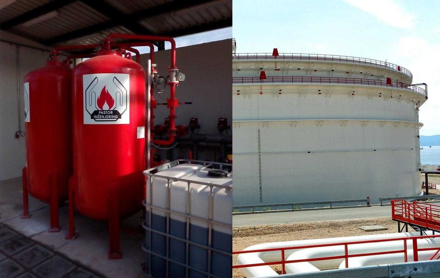 Zastitni spremnik nafte - JANAF