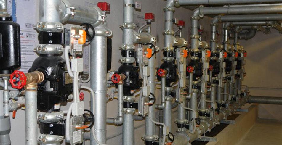Brodski sprinkler sustav